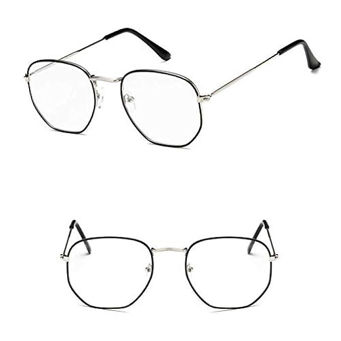 In Alla Sole Aa-sunglasses Da Metallo Poligono Occhiali Retro Moda Quadrati