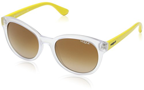 Vogue - Lunette de soleil Mod.2795S - Femme Transparent demi shiny/Brown gradient