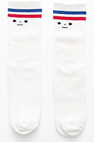 かかとの子供の靴下のない綿の子供の潮の靴下レジャーニーソックスストッキング