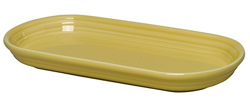 Leigh Gravy - Fiesta 12-Inch by 5-3/4-Inch Bread Tray, Sunflower