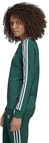 Str shirt W Manches 3 Adidas Longues T Vert wqf5B5xzv