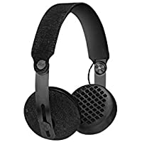 House of Marley EM-JH111-BK Rise BT Wireless On-Ear Headphones, Black