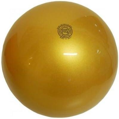 Pelota Amaya Ritmica plástico oro Gr.240 homologada Fig: Amazon.es ...