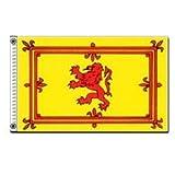 Scottish Rampant Lion Scotland Indoor Outdoor Dyed Nylon Flag Grommets 3′ X 5′