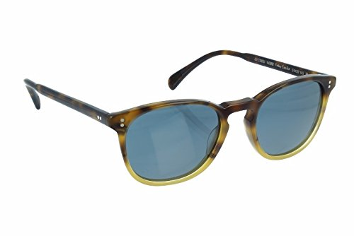 Oliver Peoples Men,Women OV5298SU 51 FINLEY ESQ. SUN Tortoise/Blue Sunglasses - 51 Esq Peoples Oliver Finley