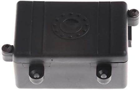 TOOGOO Caja del Receptor Caja De Radio De Coche RC Herramienta De Decoración De Plástico para 1/10 RC Tractor Coche ...