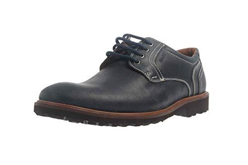 de Bleu pour Chaussures Ville Lacets Manz Bleu océan à Homme 85yFPdq4