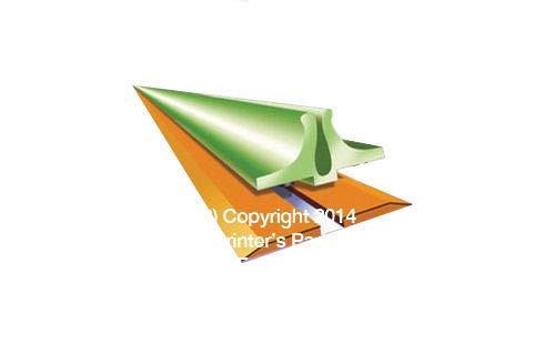 Creasing Matrix #60 Yellow 1.50mm 79FT Bindery Finishing Supplies Made in USA