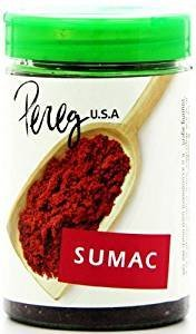 Pereg Ground Sumac Tangy & Flavorful Kosher For Passover 4.2 Oz. Pack Of 6 by PEREG