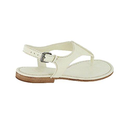 10 White Sandal Women's FRYE Seam Carson Strap T 4zxFPn0vwq