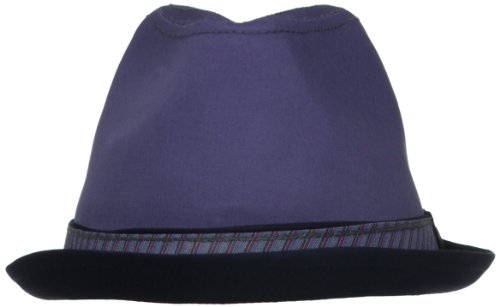 Penguin Headwear Men's Boulevard, Blue, - Linen Original Cap Penguin