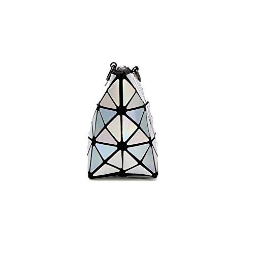 Della Laser White Yxpnu Svago Modo Pieghevole Di Del Sacchetto Acquisti Geometria Signora Catena Pearl fIIxn5awq