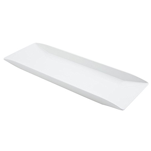 "Bon Chef 23-1/4"" x 7-3/4"" x 1-1/2 Melamine Rectangle Platter"