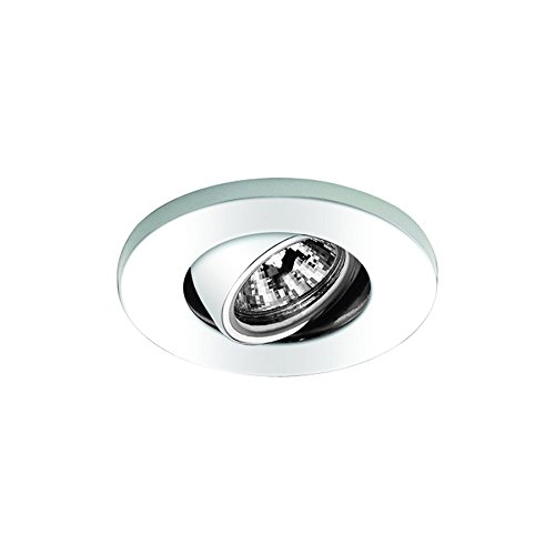 WAC Lighting HR-1137-WT Low Voltage Mini Recessed - Round (Low Voltage Mini Trim)