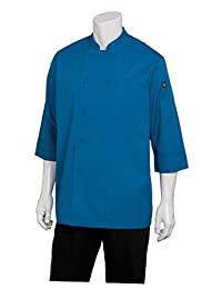 Chef Works Men's Essential 3/4 Sleeve Chef Coat (JLCL)