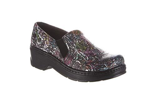 Klogs Footwear Women's Naples Medium Rainbow Tooled Size 060
