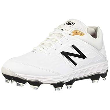 low priced b975e 696d5 New Balance Men s 3000v4 Baseball Shoe, White White, ...