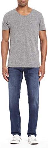 Mavi Jeans Herren Marcus Regular Rise Slim Straight Leg in Rinse Portland