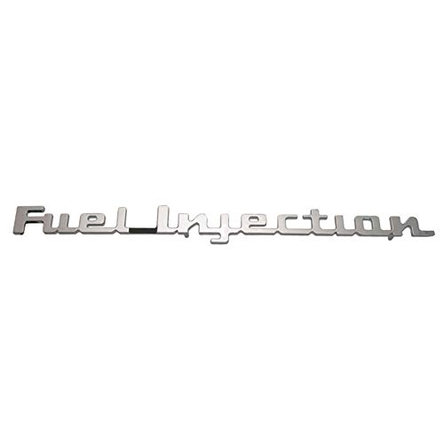 Fuel Injection Emblems - Eckler's Premier Quality Products 57-326054 Chevy Rear Trunk Emblem,