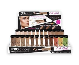 24pc L.a. Girl Pro Conceal High Definition Concealer Set of 24 Color by L.A. Girl