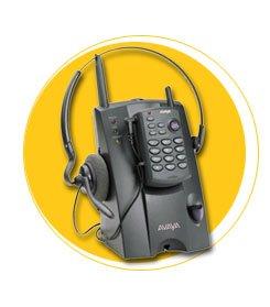 Cordless Headset System for Lucent/Avaya Phones - Plantronics LKA10