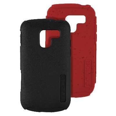 Incipio Silicrylic Hybrid Case - Incipio SILICRYLIC DualPro ECO Case for Samsung Exhilarate - Red & Black Gels