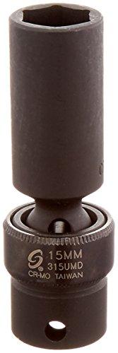 Sunex 315umd 3/8-Inch Drive 15-Mm Deep Universal Impact Socket