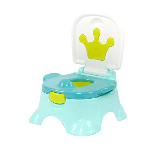 chinatera Stepstool Potty, 3-in-1 Potty Sturdy Potty Seat with Handles for Kids with Cushion and Backrest Travel Potty