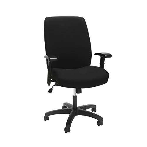 HON The Company HONVL283Y1VA10T Network High-Back Task Chair Featuring Synchro-Tilt Control with Seat Slider, in Black (HVL283), ()