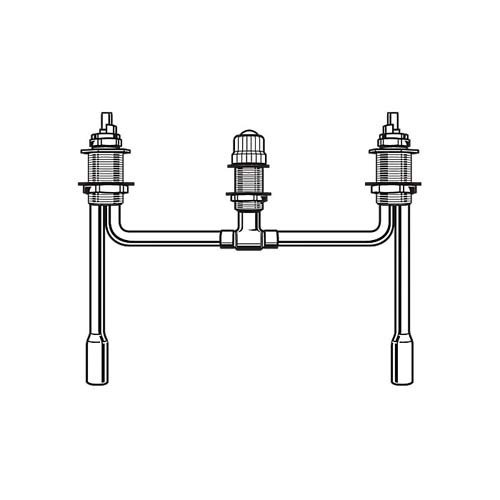 85%OFF Delta Faucet RP23601 Fixed Roman Tub Rough