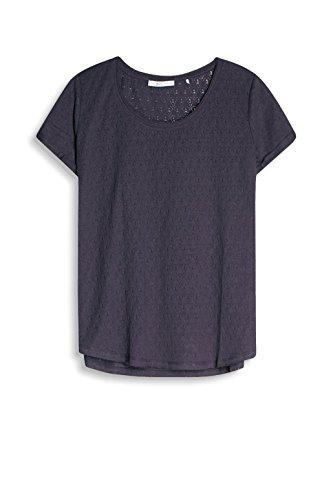 edc by Esprit 057cc1k025, Camiseta para Mujer Azul (Dark Blue)