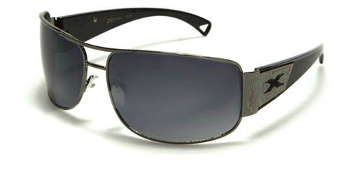 X Loop Mens / Womens / Unisex Athletic Sport Designer Fashion Sunglasses with UV400 Lens - Available in Black / Silver - Includes Custom Branded Microfiber Pouch & Cleaning - Custom Oakleys Fake