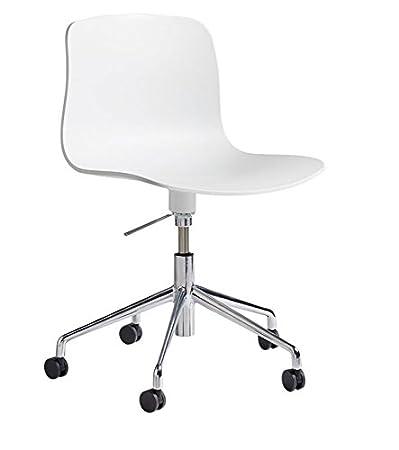 Bürostuhl weiß ohne rollen  HAY, hay, About a Chair, weiss, aac 50, drehstuhl ohne armlehnen ...