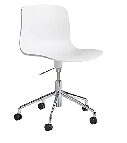 Schreibtischstuhl weiß ohne rollen  HAY, hay, About a Chair, weiss, aac 50, drehstuhl ohne armlehnen ...