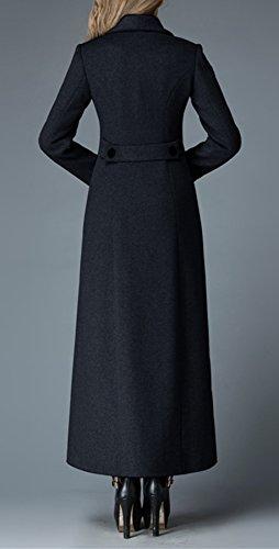 noir Blouson noir Couleur Femme Manteau PLAER 40xt8q