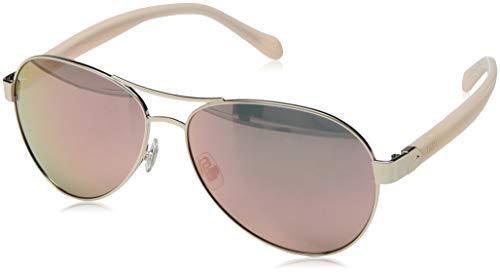 079/s Aviator Sunglasses, Light Gold, 60 mm ()