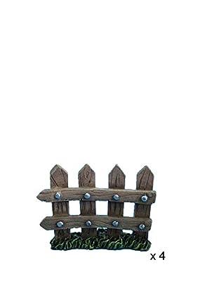 Hi-Line Gift Ltd Fairy Garden Fence Figurines