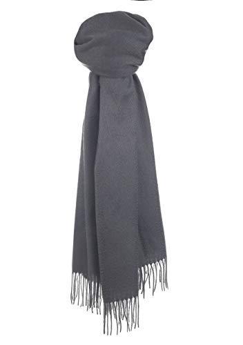- The Tartan Blanket Co. Lambswool Blanket Scarf Charcoal