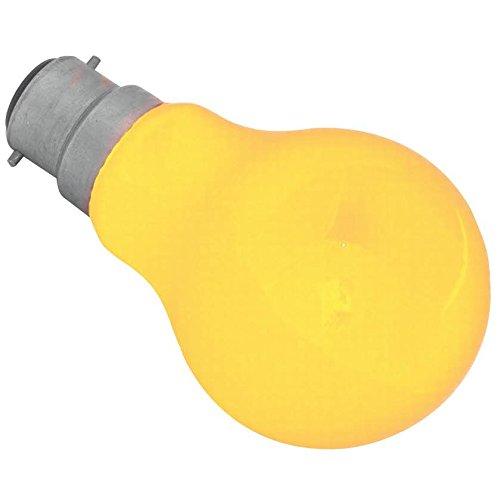 EPIK® Coloured Lamp 25W BC Amber 55lm (Maxidia Approved) [1] EPIK®