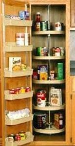 Genial 24u0026quot; Full Circle Lazy Susan For Pantry Cabinets   5 Shelf Pantry ...