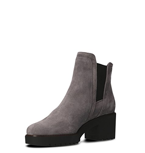 Hogan Women's HXW2770S870BYEB800 Grey Suede Ankle Boots vyb9ZCRu