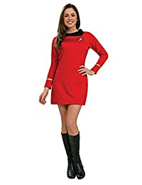 Rubies Costume Secret Wishes Star Trek Classic Deluxe Blue Dress