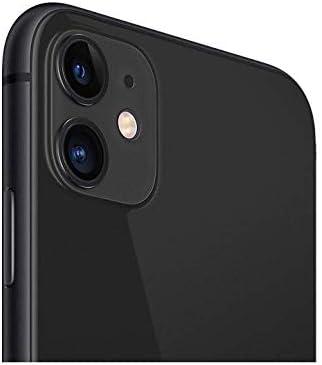 Apple iPhone 11, 64GB, Unlocked - Black (Renewed)