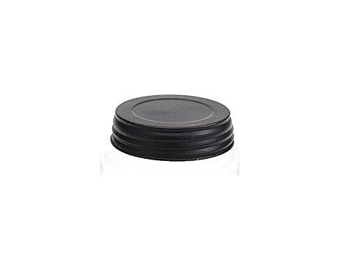 Black Mason Jar Lid - 3.5in. - Set Of 3