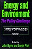 Energy and Environment Vol. 6 : The Policy Challenge, , 1560005734