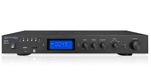 Technical Pro IA25U Integrated 600 Watt Power Amplifier w/USB + SD Card Inputs