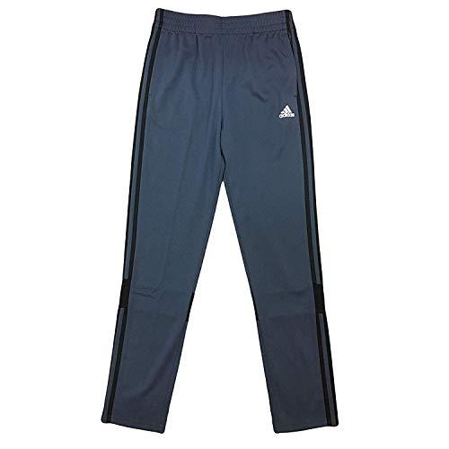 - adidas Boy's Youth 3 Stripes Performance Midfielder Warm Up Track Pants (Medium, Grey/Black)