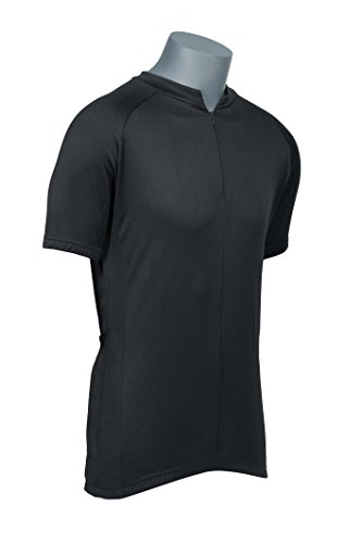 GearTOP Cycling Jersey (Large, Black)