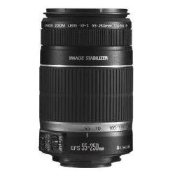 Canon EF-S 55-250mm f/4-5.6 IS Image Stabilizer Telephoto Zoom Lens - International Version (No Warranty)