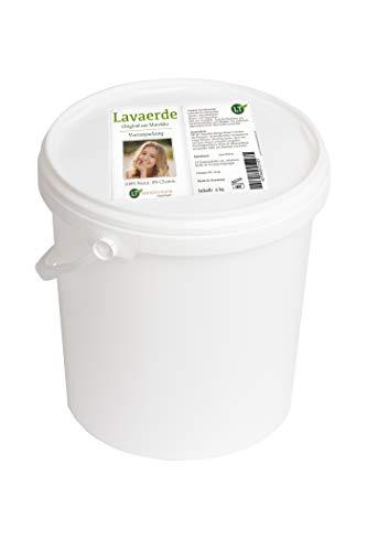 Ghassoul/Lavaerde Vorratspackung, 5kg hochfeines original marokkanisches Tonerde-Pulver zur chemiefreien Haarpflege und Körperhygiene. Bio. Vegan. Tonpulver Heilerde Wascherde Rhassoul Rhassul Rassul